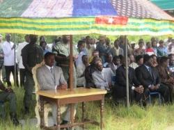 rituel des Evala dans la Kozah-Faure Gnassingbé
