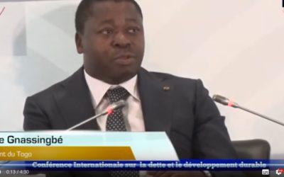 Discours de Faure Gnassingbé à la conférence internationale du FMI du 2 décembre 2019