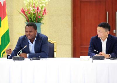 2019-11-15 Faure Gnassingbe et Jack Ma au Togo 02