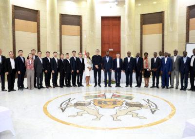 2019-11-15 Faure Gnassingbe et Jack Ma au Togo