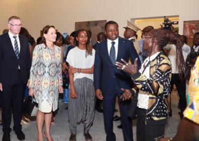 2019-11-23 Faure Gnassingbe Inauguration du Palais de Lomé 02