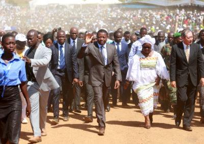 2019-11-28 Faure Gnassingbé Inauguration du pont Koumongou 02