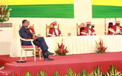 Faure Gnassingbé investi président, prête serment devant Dieu et le Peuple togolais